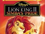 The Lion King II: Simba's Pride (VHS/DVD)