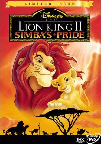 The Lion King Ii Simba S Pride Vhs Dvd Twilight Sparkle S Retro Media Library Fandom