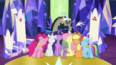 Celebrate the New Year with the Mane 6!