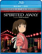Spirited Away 2017 Blu-ray