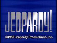 Jeopardy 1985