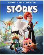 Storks bluray