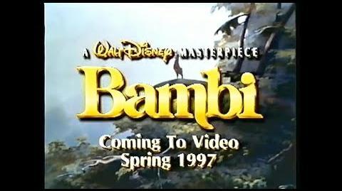 Bambi - 1997 VHS Trailer
