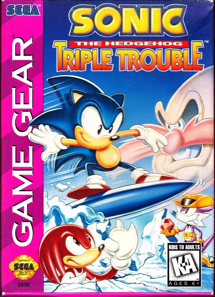 Sonic the Hedgehog: Triple Trouble
