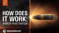 World of Tanks PC - Explaining Mechanics - Armor Penetration