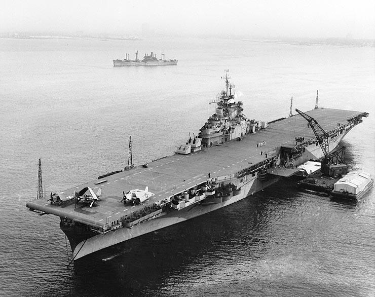 Essex-class aircraft carrier