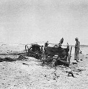 British officer near RAF Habbaniya