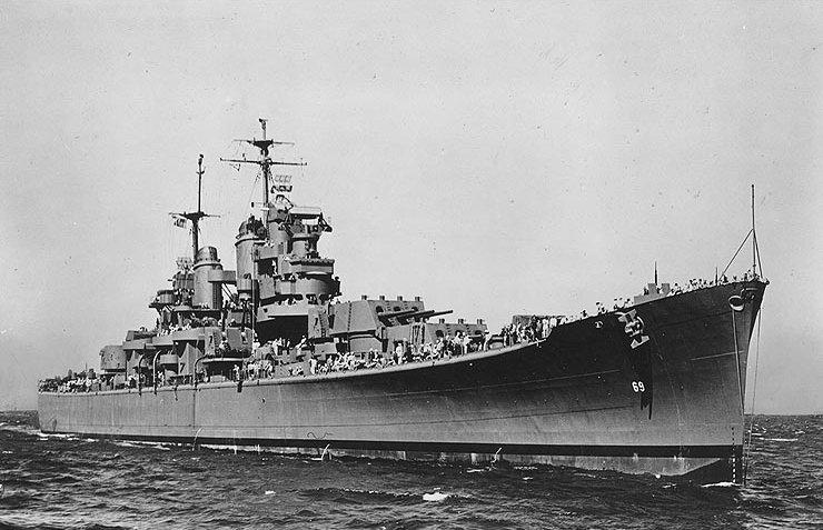 Baltimore-class heavy cruiser