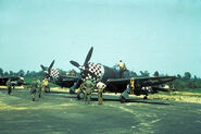 P-47 Thunderbolt of the 78th Fighter Group, Duxford 1944