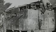 Peerless-Vickers Armored Car, Greece, c. 1920