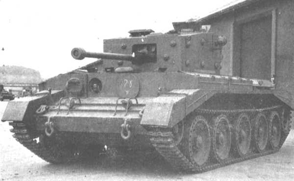 A24 Cruiser Tank Mk. VII Cavalier