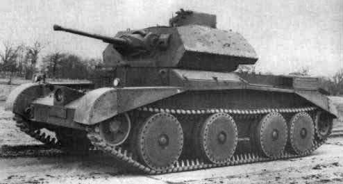 A13 Mk. II Cruiser Tank Mk. IV