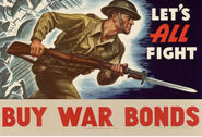 War Bonds Propaganda Poster