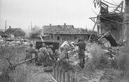 ZiS-3 gun crew fighting near Stalingrad, 1942