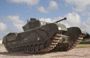 Churchill Mark IV at Tankfest