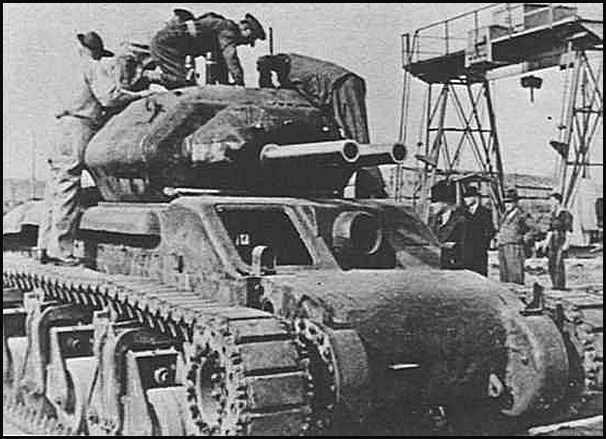 Cruiser Tank Sentinel AC