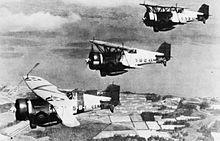 Curtiss BF2C Goshawk