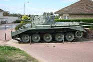 95 mm Centaur tank, Sword Beach, Normandy 2006