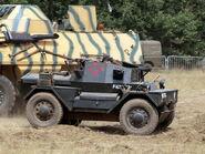Daimler Dingo at War and Peace 2010