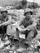 LIFE Magazine War Correspondent Robert Sherrod on Saipan, 1944