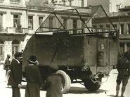 Vickers Peerless Armored Car in Greece, Circa 1920