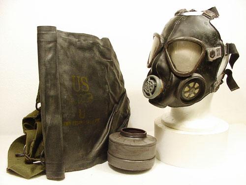 M5-11-7 Assault Gas Mask