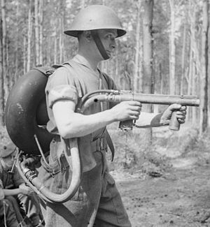 Flamethrower Portable, No. 2