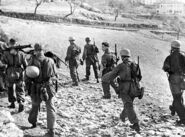 Men of 1. Fallshirmjäger Division in Abruzzo, Circa 1943