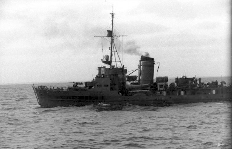 M-class minesweeper