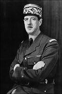 Charles de Gaulle, circa 1942