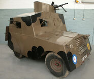 Standard Beaverette Mk. III Armored Car at RAF Duxford