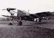 Bf 109D in Swiss service