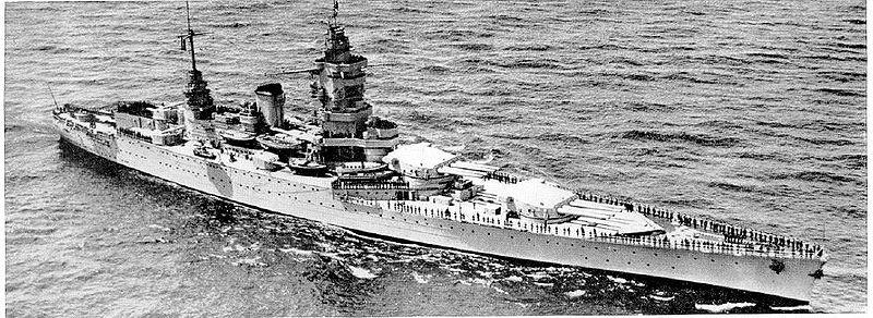 Dunkerque-class battleship