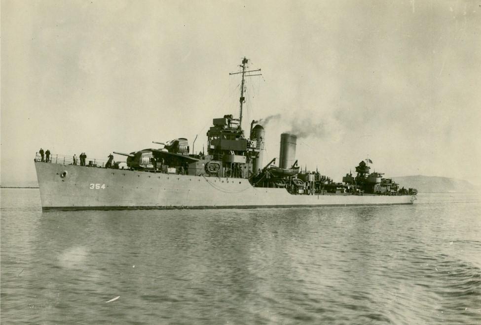 USS Monaghan (DD-354)