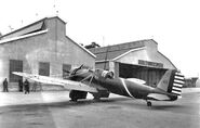 Curtiss A-12 Shrike of the 90th Attack Squadrons, Fort Crockett, Texas 1933