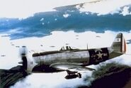 Mexican Expeditionary Air Force P-47D-30-RA of Escuadrón 201, Philippines 1945