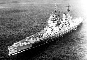 King George V-class battleship
