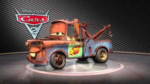 """Cars 2 Turntable """"Mater"""""""