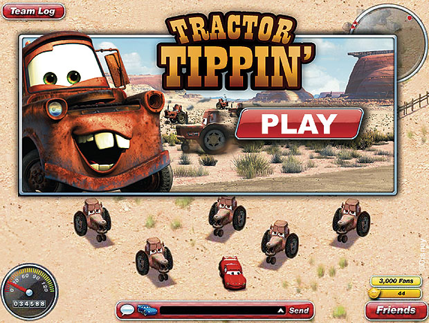 Tractor Tippin' (The World of Cars Online)