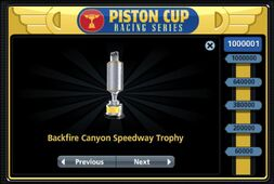 Backfire Canyon Cup