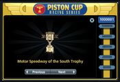 Motor Speedway of the South Trophy