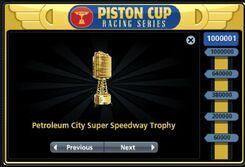 Petroleum City Super Speedway Trophy