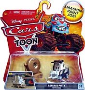 Referee pitty with bell cars toon single