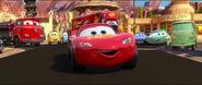 Cars2 happy mcqueen