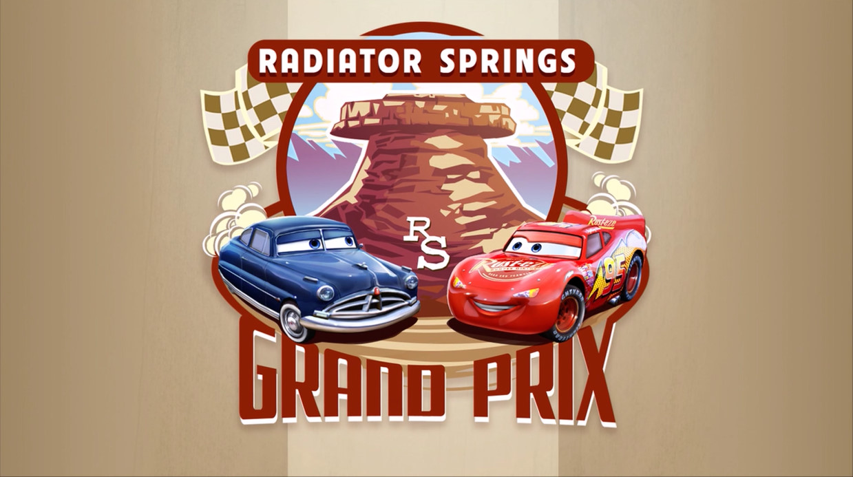 Radiator Springs Grand Prix Cars The Video Game World Of Cars Wiki Fandom