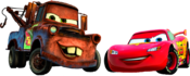 McQueen and Mater Cars 2