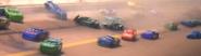 Chase during Florida 500 crash