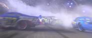 Ralph, Misty, Dirkson in the crash