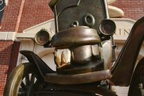 Stanley in Cars Land!!!!!!
