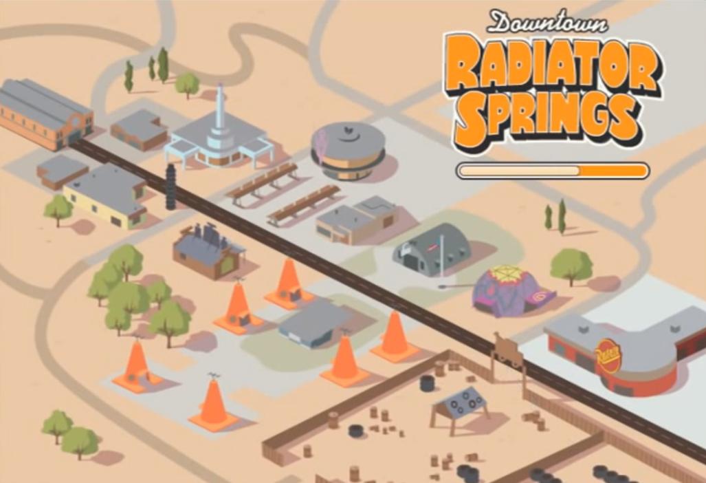 Downtown Radiator Springs